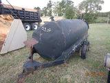FUEL TRAILER,  PUMP W/GAS ENGINE, TANDEM AXLE S# N/A