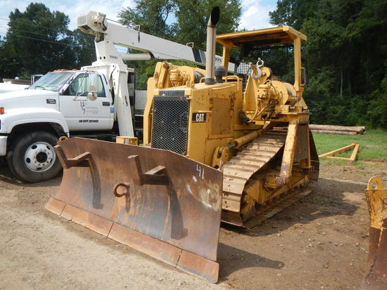 1994 CATERPILLAR D4H XL SIDE BOOM PIPE LAYER, 7049 HOURS  OROPS, CANOPY, 6