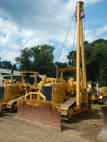 1993 CATERPILLAR D4H XL SIDE BOOM PIPE LAYER, 2091 HOURS SHOWING ON METER