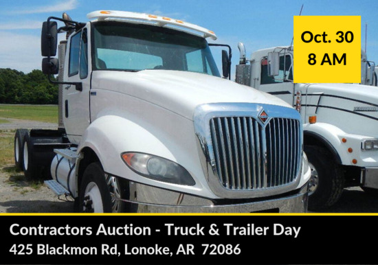 Lonoke Contractors' Auction Truck & Trailer Day