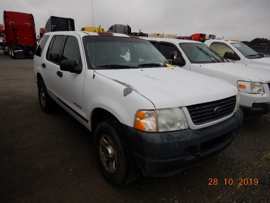 2005 FORD EXPLORER SUV,  4-DOOR, V6 GAS, AUTOMATIC, PS, AC S# 28999