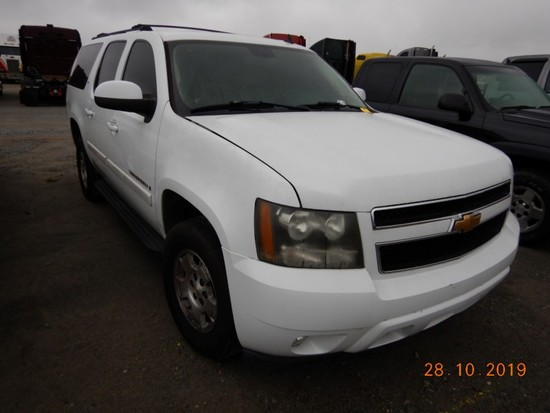 2007 CHEVROLET SUBURBAN SUV, 182K + mi,  V8 GAS, AUTOMATIC, PS, AC, S# 9038