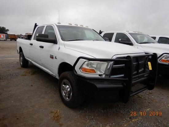 2012 DODGE RAM 3500HD TRUCK, 211,012+ mi,  CREW CAB, 4 X 4, CUMMINS DIESEL,