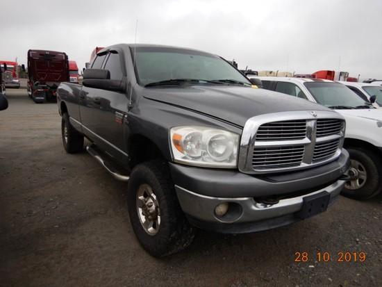 2008 DODGE RAM 2500 TRUCK, 357,000+ mi,  CREW CAB, 4 X 4, CUMMINS DIESEL, A