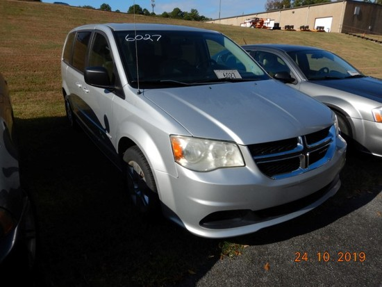 2012 DODGE CARAVAN VAN, 79k + mi,  V6 GAS, AUTOMATIC, PS, AC S# 2C4RDGBG7CR