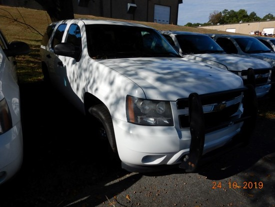 2011 CHEVROLET TAHOE SUV, 138,817 mi,  V8 GAS, AUTOMATIC, PS, AC S# 1GNLC2E