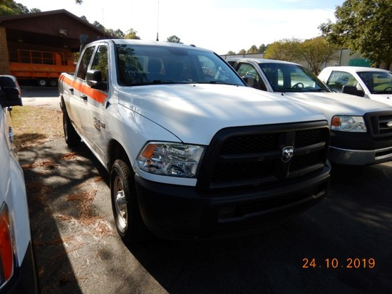 2015 DODGE RAM 1500 PICKUP TRUCK, 117,189 mi,  CREW CAB, SHORT BED, V8 GAS,