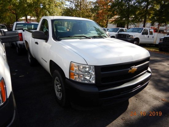 2012 CHEVROLET 1500 PICKUP TRUCK, 82k+ miles  V8 GAS, AT, PS, AC, S# 1GCNCP