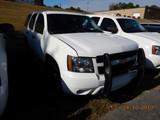 2013 CHEVROLET TAHOE SUV, 134K + mi,  V8 GAS, AUTOMATIC, PS, AC S# 1GNLC2E0