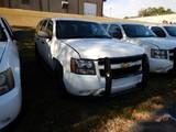 2013 CHEVROLET TAHOE SUV, 136K + mi,  V8 GAS, AUTOMATIC, PS, AC S# 1GNLC20D