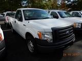 2011 FORD F150XL PICKUP TRUCK, 139k + mi,  V8 GAS, AUTOMATIC, PS, AC S# 1FT