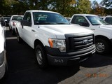 2011 FORD F150XL PICKUP TRUCK, 93,908 mi,  SHORT BED, V8 GAS, AUTOMATIC, S#