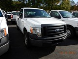 2011 FORD F150 PICKUP TRUCK, 97,117 MILES  V8 GAS, AT, PS, AC S# 1FTMF1CF5B