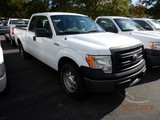 2014 FORD F150XL PICKUP TRUCK, 125,546 mi,  EXTENDED CAB, SHORT BED, V8 GAS