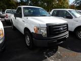 2011 FORD F150XL PICKUP TRUCK, 76,185 mi,  V8 GAS, AUTOMATIC, S# 1FTMF1CF9B