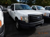 2011 FORD F150XL PICKUP TRUCK, 159k + mi,  EXTENDED CAB, V8 GAS, AUTOMATIC,