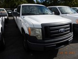2011 FORD F150XL PICKUP TRUCK, 184k + mi,  V8 GAS, AUTOMATIC, PS, AC, S# 1F
