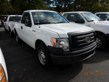 2011 FORD F150XL PICKUP TRUCK, 101,900 mi,  SHORT BED, V8 GAS, AUTOMATIC S#