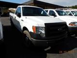 2013 FORD F150 XL PICKUP TRUCK, 139k + mi,  V8 GAS, AUTOMATIC, PS, AC, S# 1