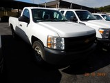 2012 CHEVROLET 1500 PICKUP TRUCK, 204k+ miles  V8 GAS, PS, AC, TOOLBOX S# 1