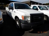 2010 FORD F150  XL PICKUP TRUCK, 173k+ miles  V8 GAS, AT, PS, AC, S# 1FTEX1