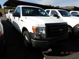 2011 FORD F150 PICKUP TRUCK, 92,236 mi,  SHORT BED, V8 GAS, AUTOMATIC, S# 1