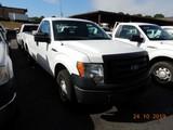 2011 FORD F150XL PICKUP TRUCK, 113k + mi,  V8 GAS, AUTOMATIC, PS, AC, TOOLB