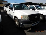 2007 FORD F150  XL PICKUP TRUCK, 157k+ miles  V8 GAS, AT, PS, AC, TOOLBOX S