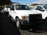 2010 FORD F250XL PICKUP TRUCK, 172k + mi  V8 GAS, AUTOMATIC, PS, AC S# 1FTM