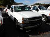 2003 CHEVROLET 1500 PICKUP TRUCK, 127k+ miles  V8 GAS, AT, PS, AC S# 1GCEC1