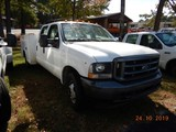 2004 FORD F350XL SERVICE TRUCK, 171k+ miles  V10 GAS, AT, PS, AC S# 1FDWW36