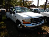 2001 FORD F350 PICKUP TRUCK, 244,815 mi  EXTENDED CAB, V10 GAS, AUTOMATIC S