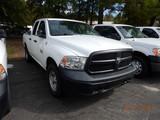 2013 DODGE RAM 1500 PICKUP TRUCK, 118k +  mi,  QUAD CAB, SHORT BED, V8 GAS,