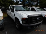 2009 FORD F250 PICKUP TRUCK, 215982 mi  CREW CAB, LONG BED, V8 GAS, AUTOMAT