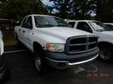 2003 DODGE 2500 PICKUP TRUCK, 245k + mi,  CREW CAB, 5.7L V8 GAS, AUTOMATIC,