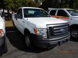 2010 FORD F250XL PICKUP TRUCK, 157k  + mi,  V8 GAS, AUTOMATIC, PS, AS S# 1F