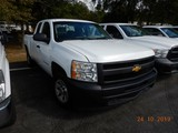 2012 CHEVROLET 1500 PICKUP TRUCK, 160k+ miles  EXTENDED CAB, V8 GAS, AT, PS
