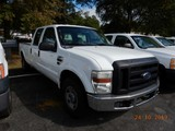 2008 FORD F250XL PICKUP TRUCK, 264k+ miles  CREW CAB, V8 GAS, AT, PS, AC S#