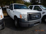2011 FORD F150XL PICKUP TRUCK, 189k + mi,  EXTENDED CAB, V8 GAS, AUTOMATIC,