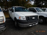 2008 FORD F150XL PICKUP TRUCK, 184k+ miles  V8 GAS, AT, PS, AC, TOOLBOX S#