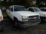 2003 CHEVROLET 1500 PICKUP TRUCK, 266k+ miles  EXTENDED CAB, 4X4, V8 GAS, A