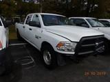 2013 DODGE RAM 2500 PICKUP TRUCK, 98,716 mi,  CREW CAB, SHORT BED, V8 8.57L