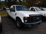 2009 FORD F250 PICKUP TRUCK, 206099 mi,  EXTENDED CAB, SHORT BED, V8 GAS, A