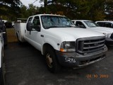 2004 FORD F350XL SERVICE TRUCK, 266k+ miles  V10 GAS, AT, PS, AC S# 1FDWW36