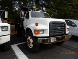 1994 FORD F800 DUMP TRUCK, 137K+ MILES  FORD DIESEL, AUTOMATIC TRANSMISSION