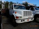 1991 INTERNATIONAL 4700 DUMP TRUCK, 340,350 miles  CREW CAB, EJECTO BED, IH