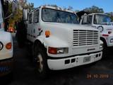 1992 INTERNATIONAL 4700 DUMP TRUCK, 390,078 miles  CREW CAB, IH DIESEL, 5+2