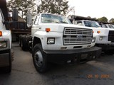 1985 FORD FT8000 CAB & CHASSIS, 206k+ miles  FORD DIESEL, 13 SPEED, TWIN SC