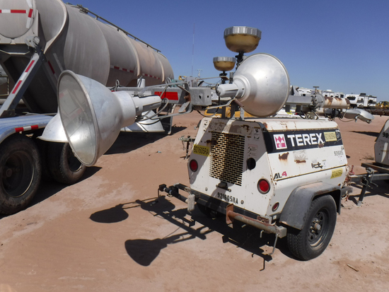 2012 TEREX AL4 PORTABLE LIGHT PLANT GENERATOR, 7,124+ hrs,  MARATHON 6-KW G
