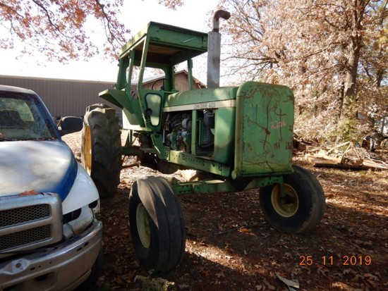 JOHN DEERE 4430 WHEEL TRACTOR,  3 POINT, PTO, HYDRAULIC REMOTES S# 4430W004